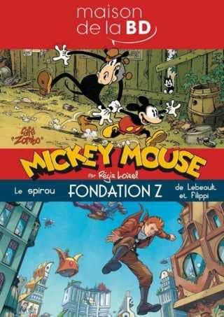 Mickey et Spirou