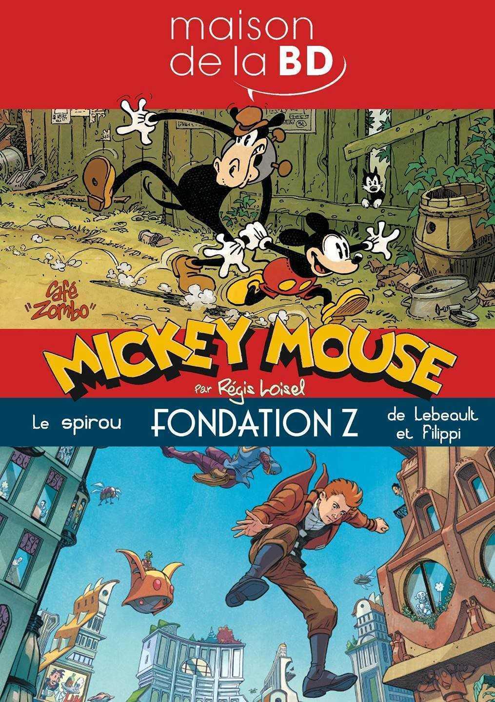 Mickey et Spirou s'exposent à la Maison de la BD à Blois du 5 juin au 1er septembre