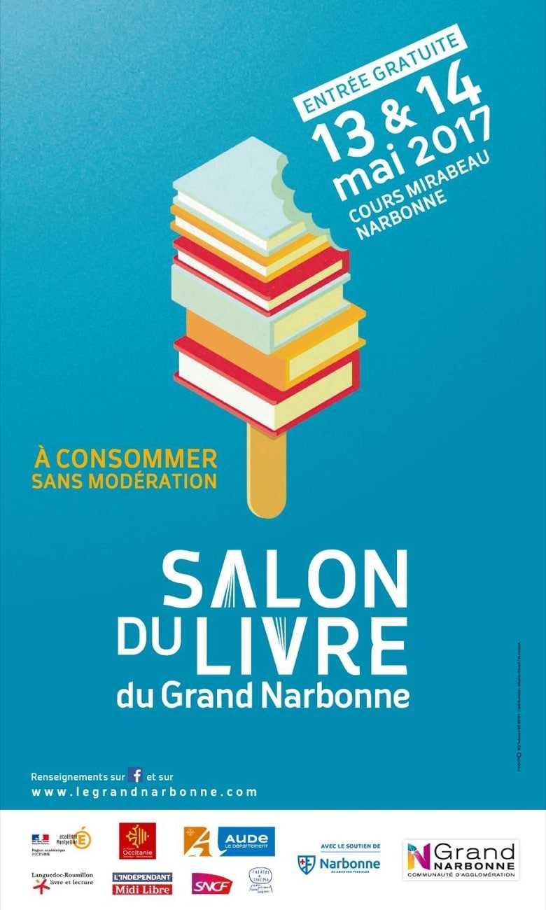 Salon du Livre du Grand Narbonne samedi et dimanche 5 et 6 Mai 2018, la BD fait aussi la fête