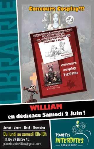 William en dédicace