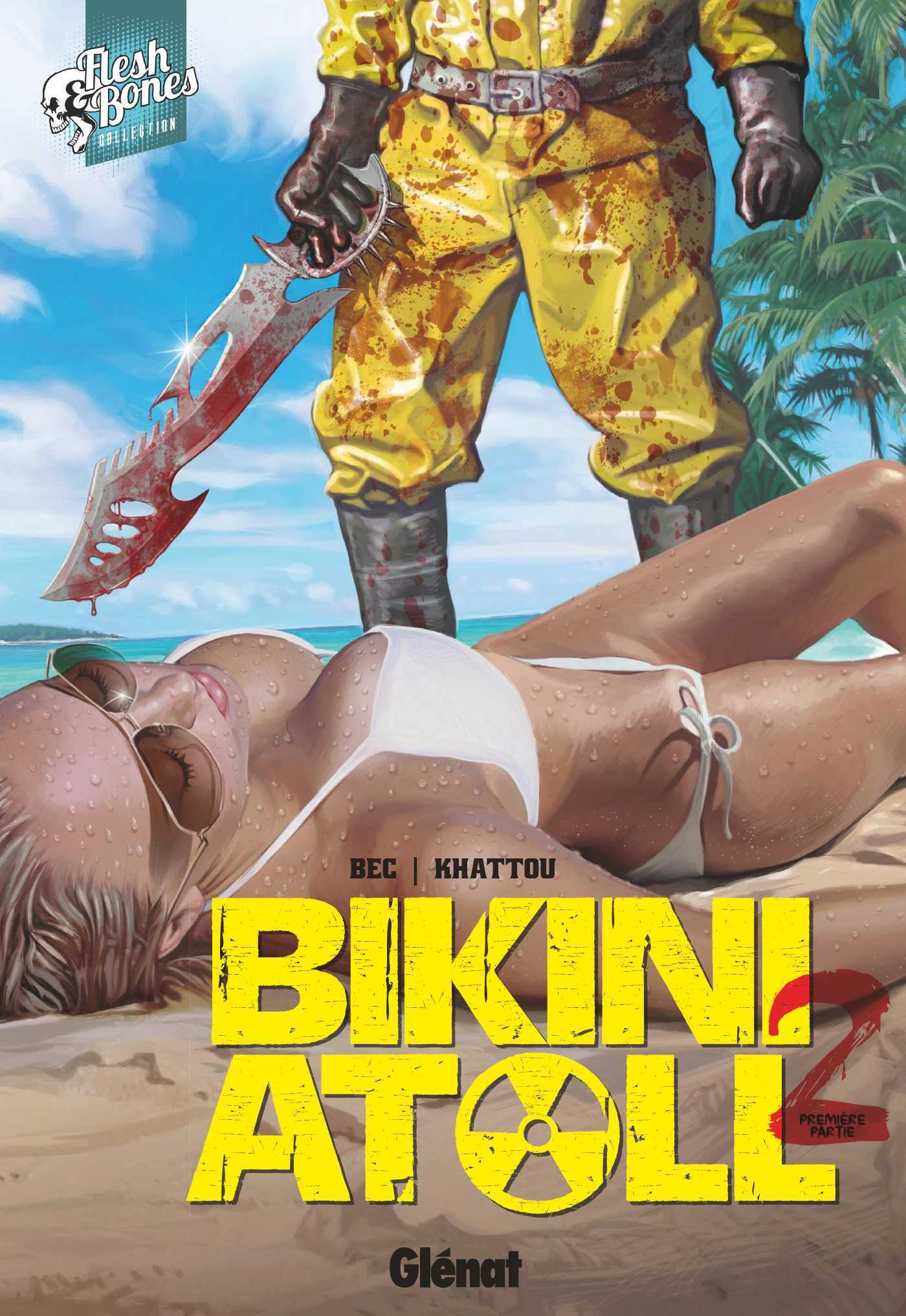 Bikini atoll T2, plage sanglante
