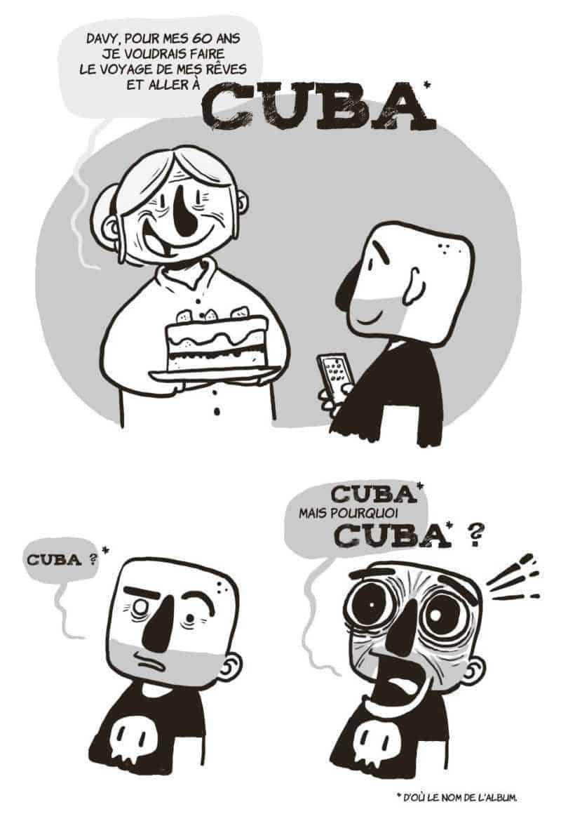 Davy Mourier vs Cuba