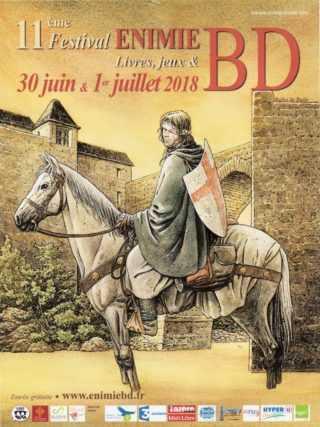 Sainte-Enimie 2018, un hommage à Gilles Chaillet et une trentaine d'auteurs du 30 juin au 1 juillet
