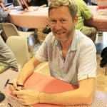 Eric Hübsch en dédicace à Pézenas à la librairie Lanet le 14 décembre 2019