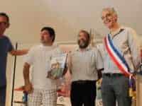 La remise du prix à l'album Le Vétéran. JLT ®