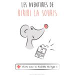 Biribi, une petite souris qui veut aider les enfants malades du diabète type 1
