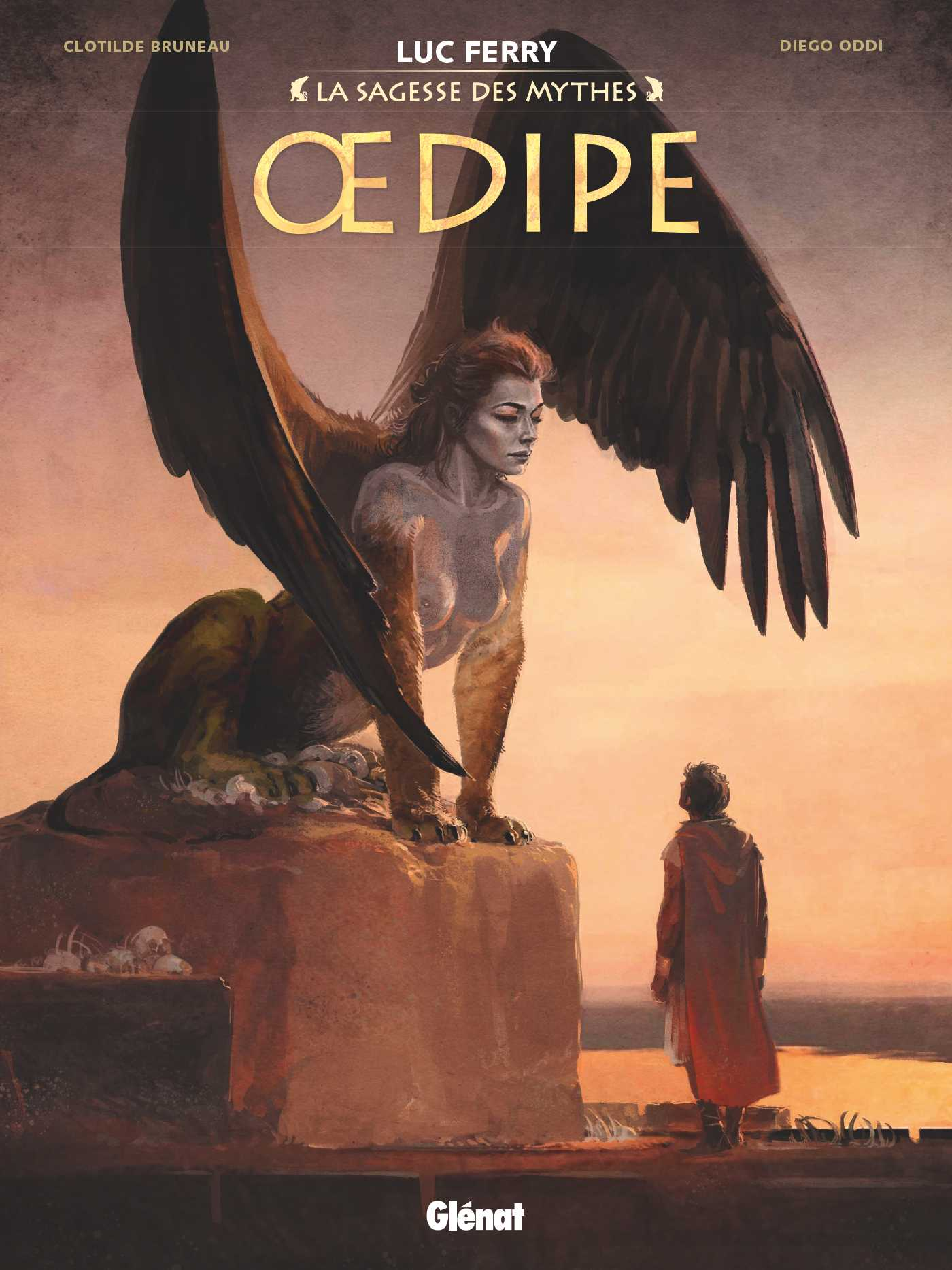 Jason et Œdipe, les deux héros rejoignent La Sagesse des Mythes