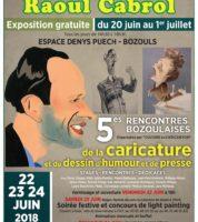 Bozouls, 5e Rencontres de la caricature et de l'humour dès le 22 juin