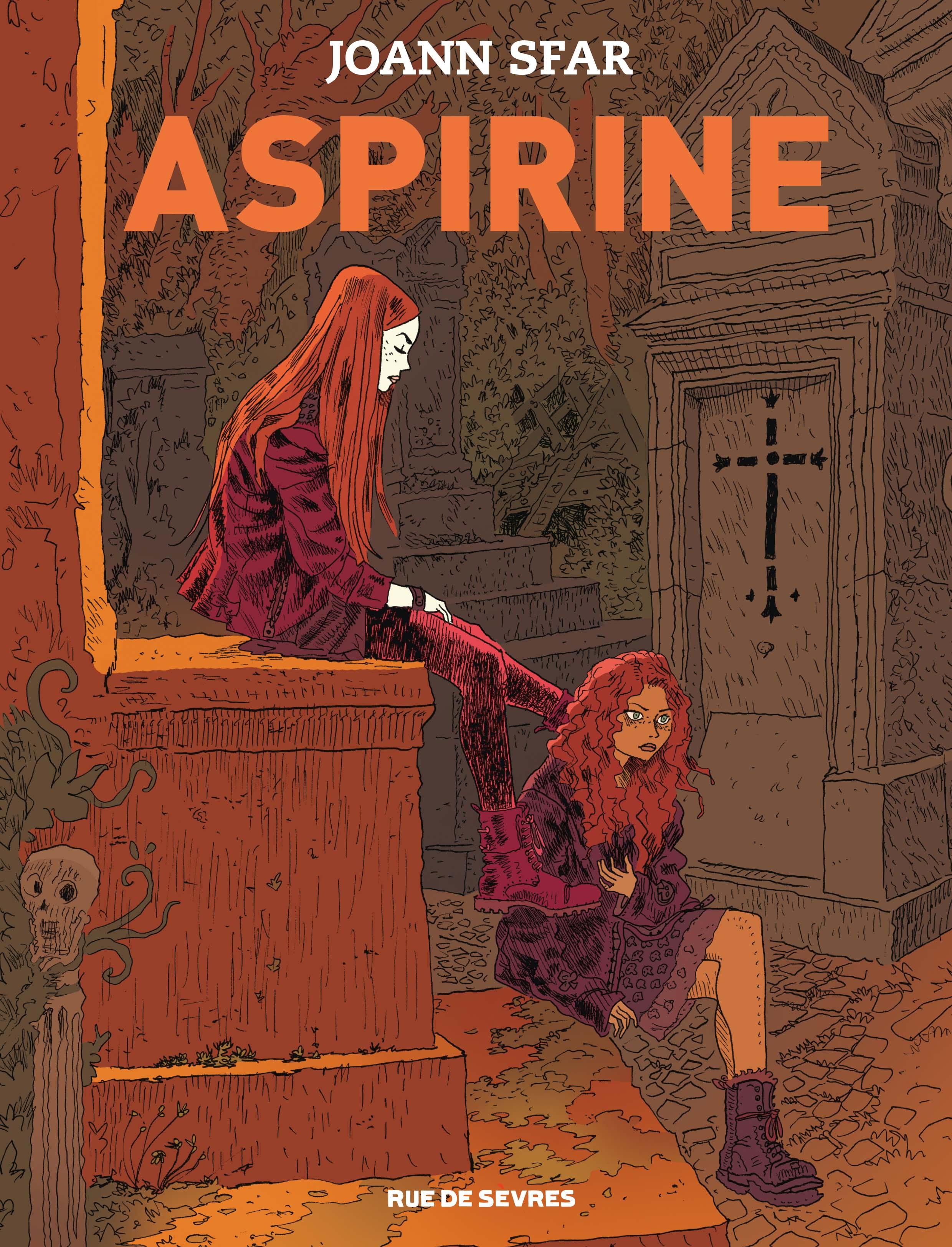 Aspirine, Sfar et sa jeune vampire parisienne