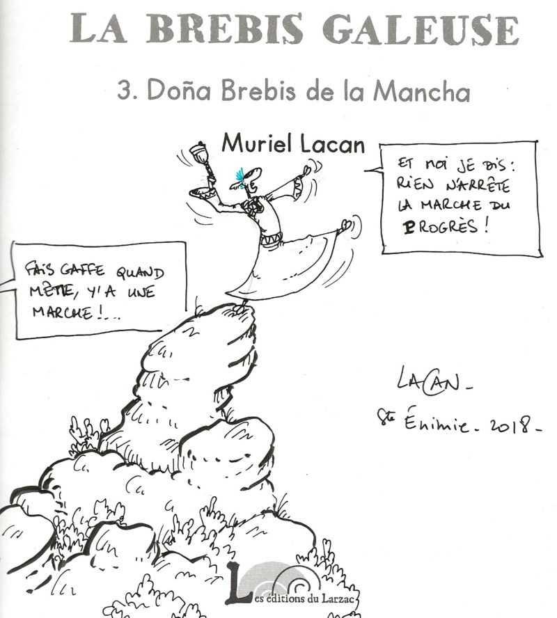 Dédicace de Muriel Lacan