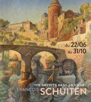 François Schuiten, un artiste dans la ville à Semur-en-Auxois jusqu'au 31 octobre 2018