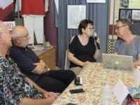 Entretien sur Vasco avec Chantal Chaillet, Luc Révillon et Dominique Rousseau. JLT DR