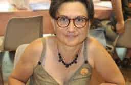 Muriel Lacan à Sainte-Enimie 2018. JLT ®