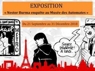 Nestor Burma enquête au Musée des Automates