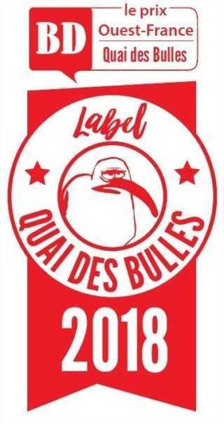 Prix des lecteurs Ouest-France / Quai des Bulles 2018