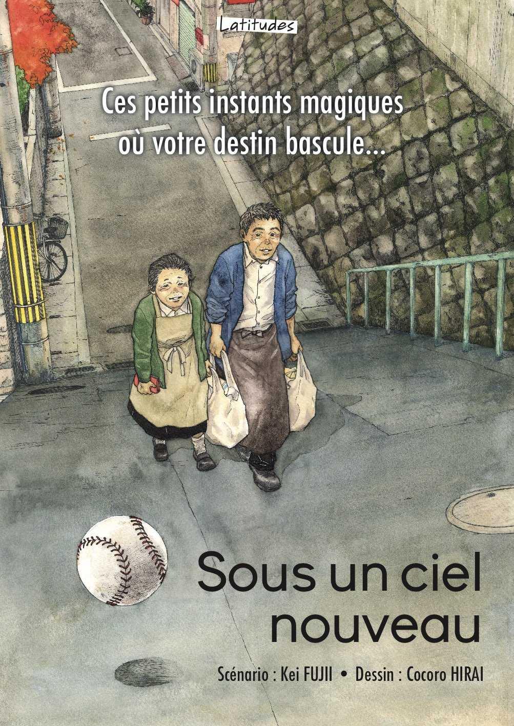 Prix Asie de la Critique ACBD 2018 à Sous un ciel nouveau de Kei Fujii et Cocoro Hirai