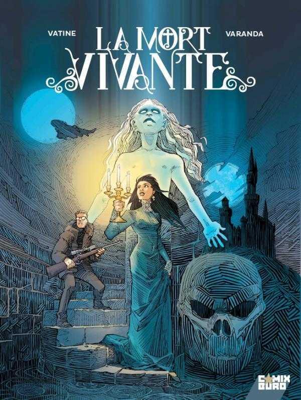Interview : La Mort vivante signé par Olivier Vatine et Alberto Varanda premier titre du partenariat Comix Buro-Glénat