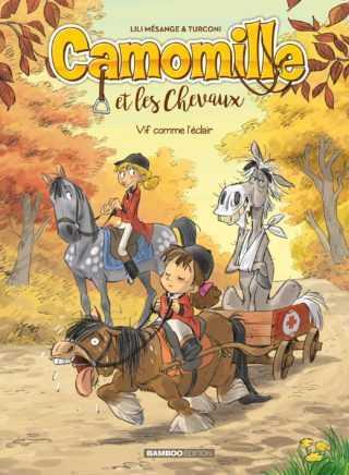 Camomille et les chevaux, un amour de cavalière
