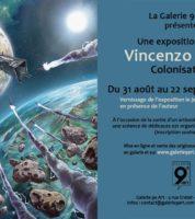 Vincenzo Cucca expose Colonisation à la galerie du 9e Art à Paris dès le 31 août et dédicace le 30