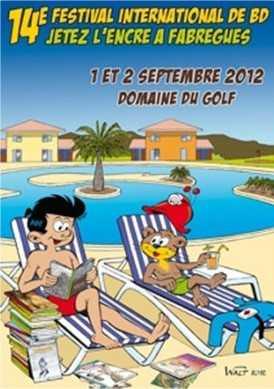 Festival BD de Fabrègues 2012