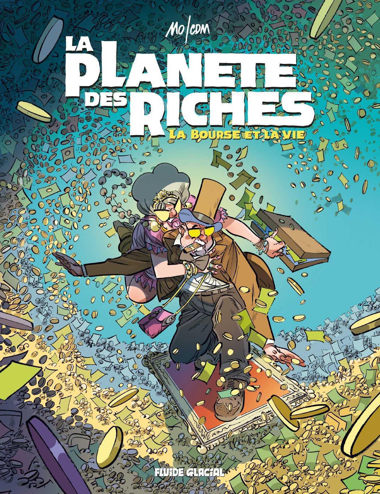 La Planète des riches T2, les édifiants Delatune