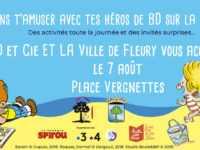 Avec BD & Cie, le Camion qui bulle est à Saint-Pierre la Mer le 7 août avant Palavas le 8