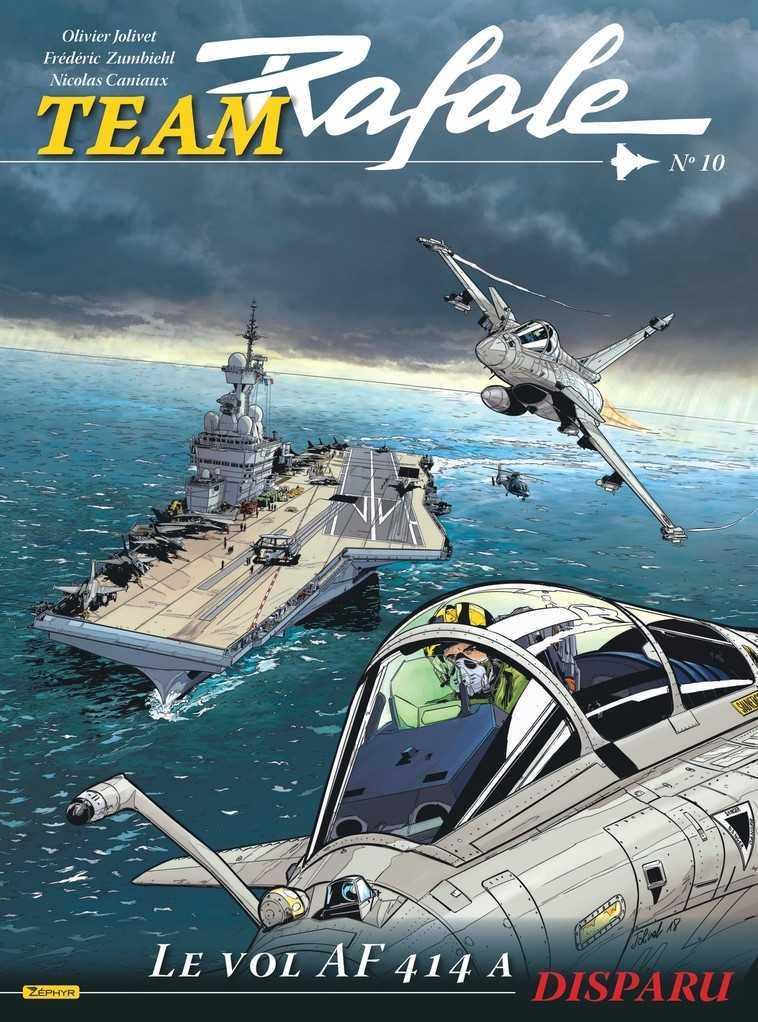 Team Rafale T10, l'Aéronavale pour Tom