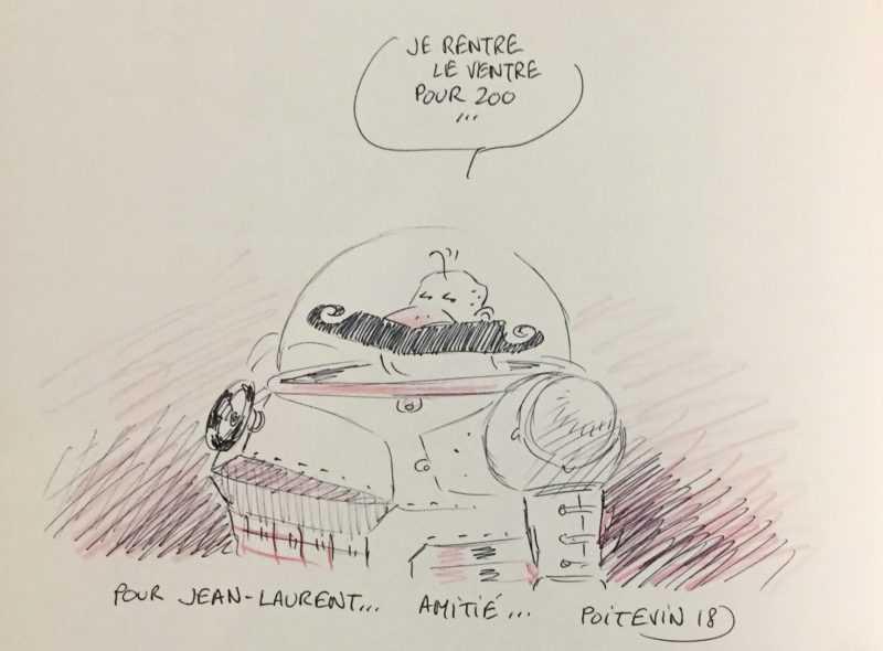 Dédicace d'Arnaud Poitevin