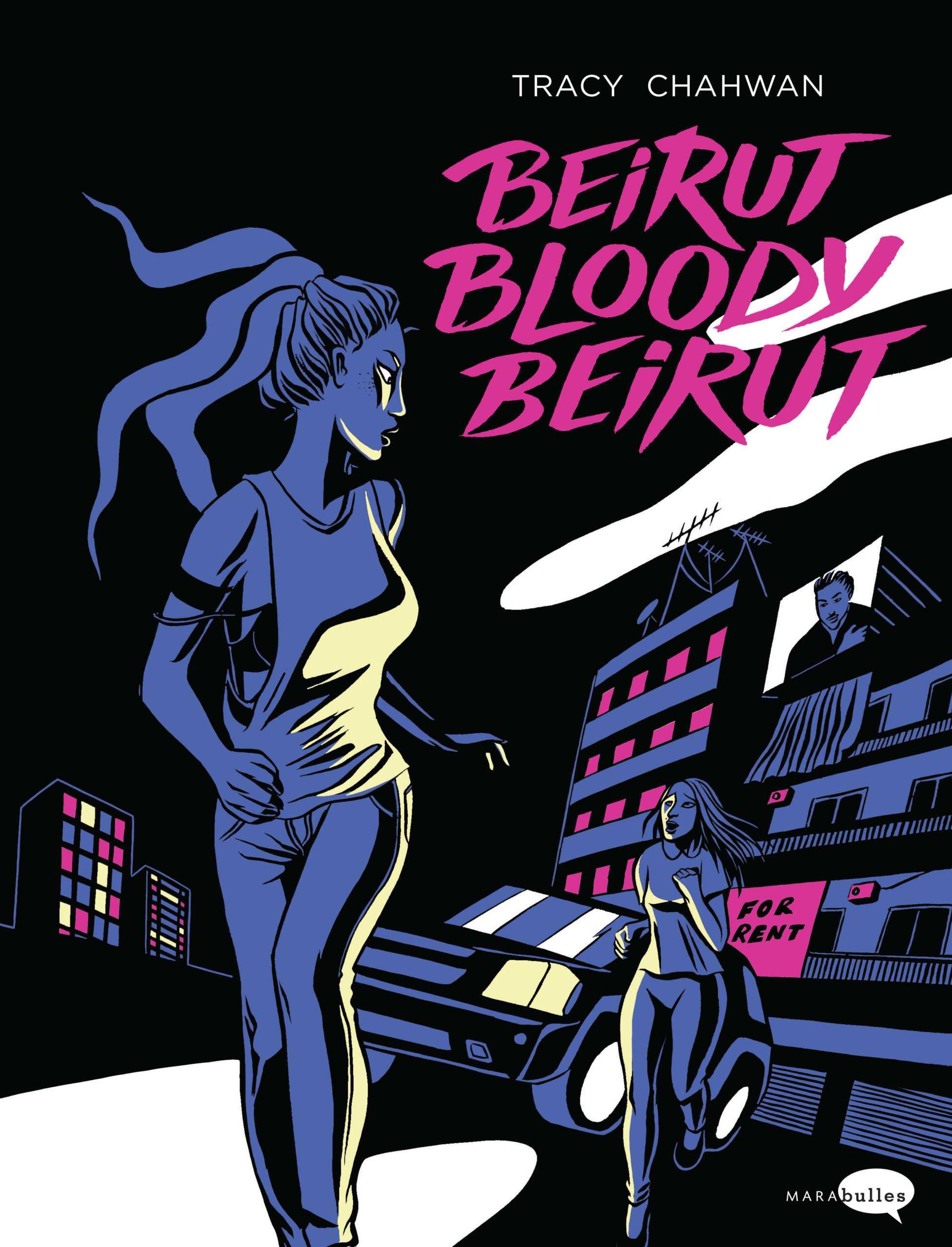 Chez Comic Art Factory, Tracy Chahwan expose à Bruxelles le 13 septembre son Bloody Beirut