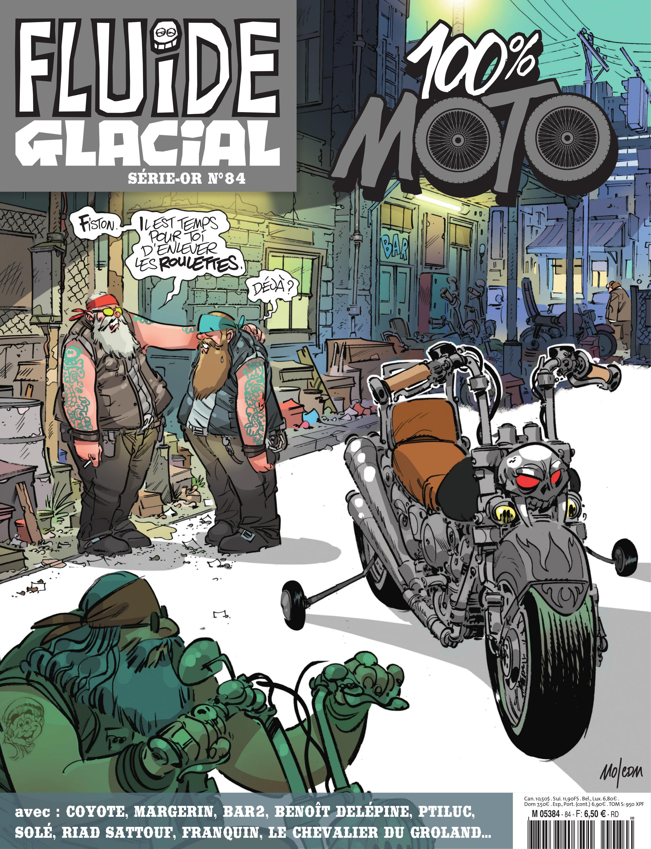Fluide Glacial 100% Moto, plein gaz