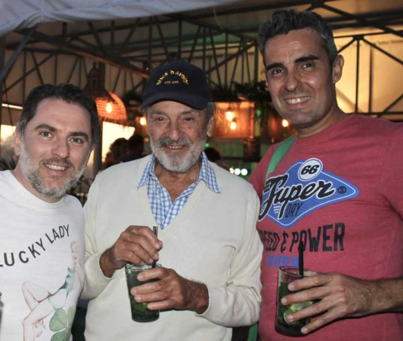 Jean-Michel Arroyo, Francis Bergèse et Romain Hugault