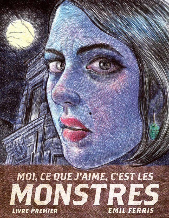 Charlotte Impératrice et Moi ce que j'aime c'est les monstres nommés au Prix des libraires BD 2018