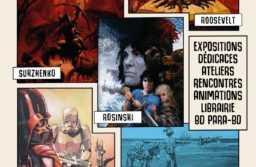 Arts Croisés à Avignon du 19 au 21 octobre 2018 avec Surzhenko, Boschi, Faure et Roosevelt mais Rosinski sera absent