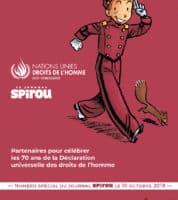 Spirou et l'ONU associés pour défendre les Droits de l'Homme