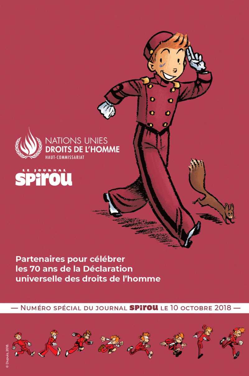 Spirou et l'ONU