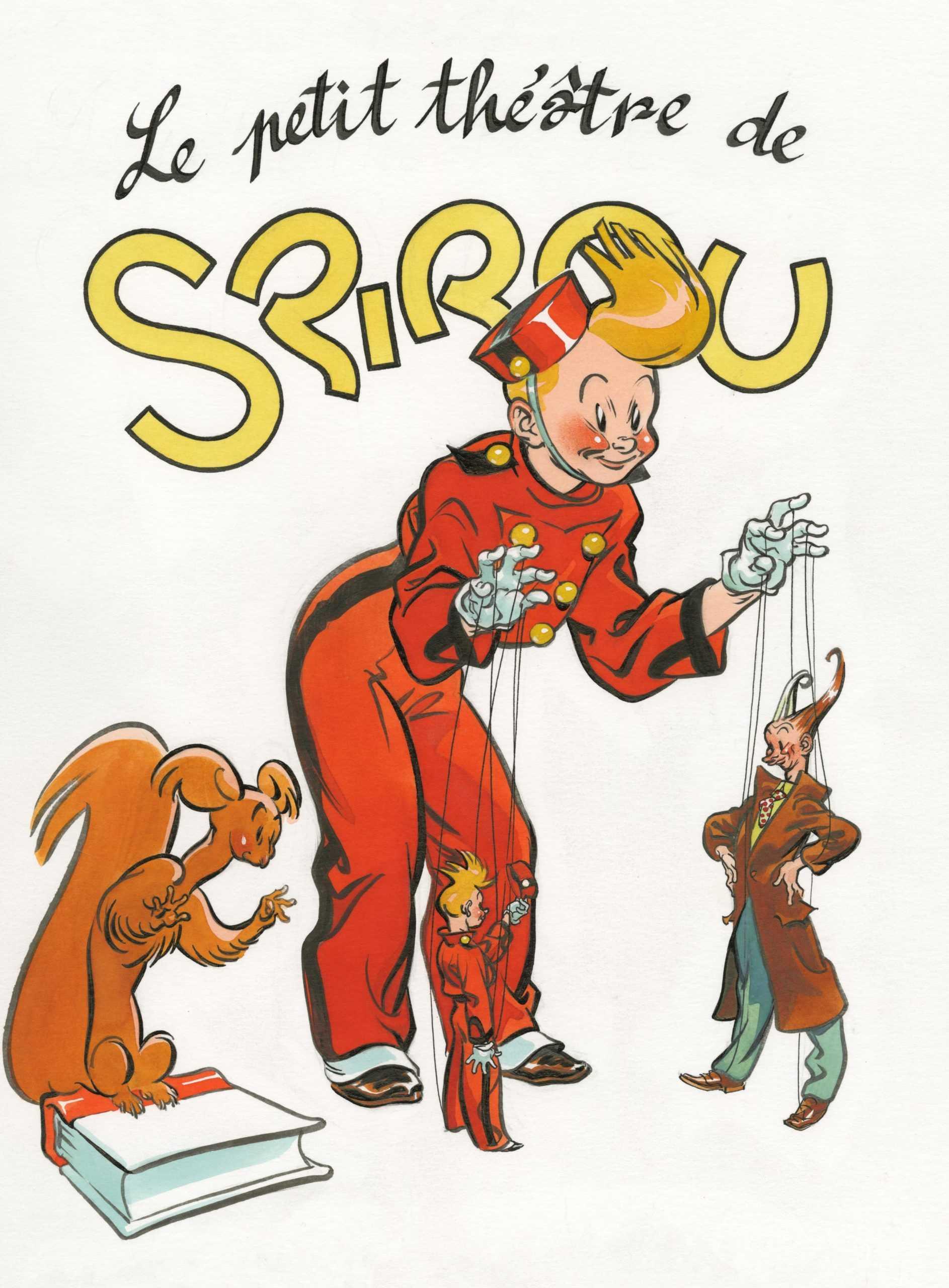 Al Severin avec le Petit Théâtre de Spirou s'expose à Bruxelles jusqu'au 3 novembre