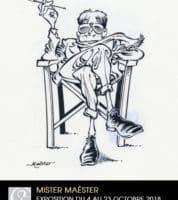Maëster s'expose à la Galerie Glénat à Paris dès le 4 octobre