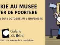 Dickie au Musée et s'expose à Paris avec De Poortere chez Zic et Bul à partir du 6 octobre