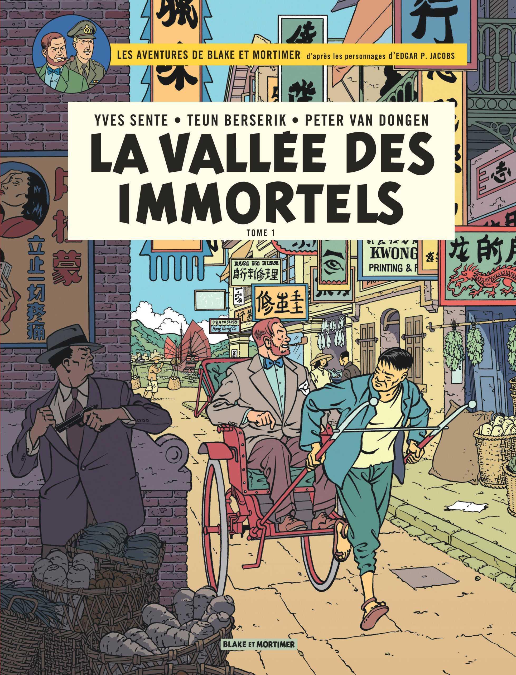 La Vallée des immortels, Blake et Mortimer partent en Chine avant de s'exposer à l'abbaye Royale de l'Épau