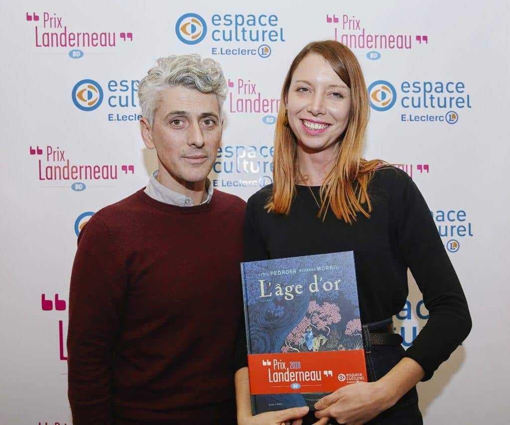 Le Prix Landerneau 2018 à L'Âge d'Or de Pedrosa et Roxane Moreil