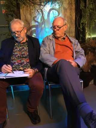Grzegorz Rosiński et Jean Van Hamme
