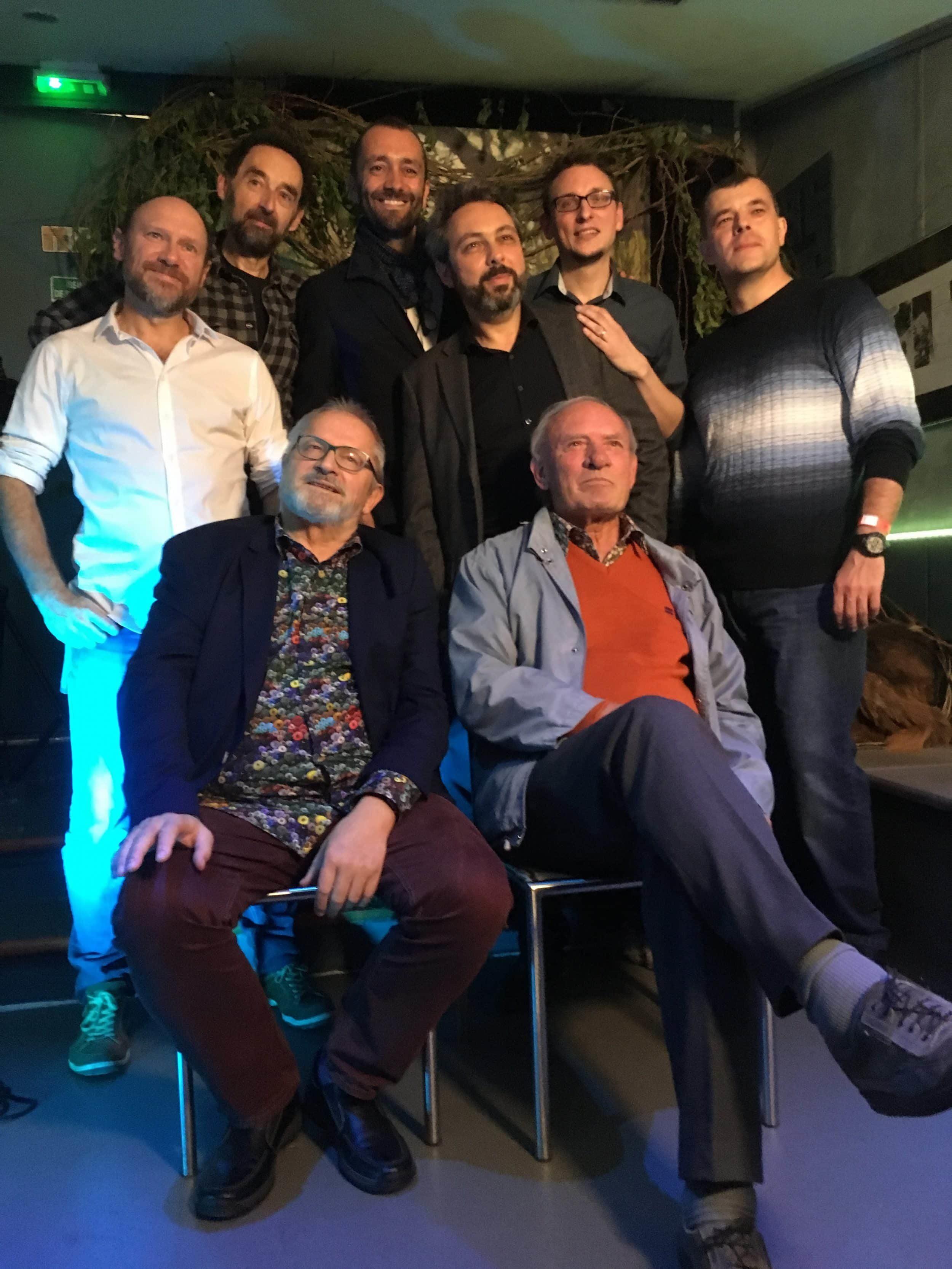Convention Thorgal, Rosinski et Van Hamme ensemble avec un tirage spécial du tome 36, Aniel