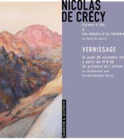 Exposition chez Barbier & Mathon le 9 novembre : Pour Nicolas de Crécy «l'artiste doit sortir de sa tanière»
