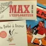 Max, M. Poche et Un Bébé à livrer, des cadeaux pour Noël
