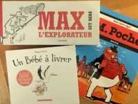 Max l'Explorateur, M. Poche et Un Bébé à livrer
