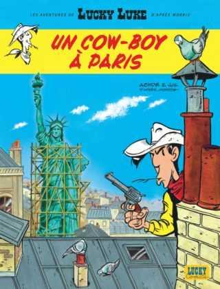 Lucky Luke à Paris, c'est une fête avec Jul et Achdé
