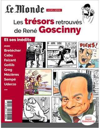 Les trésors retrouvés de René Goscinny, un hors-série signé par Le Monde