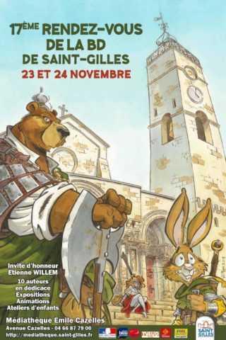 Rendez-vous de la BD de Saint-Gilles 2018