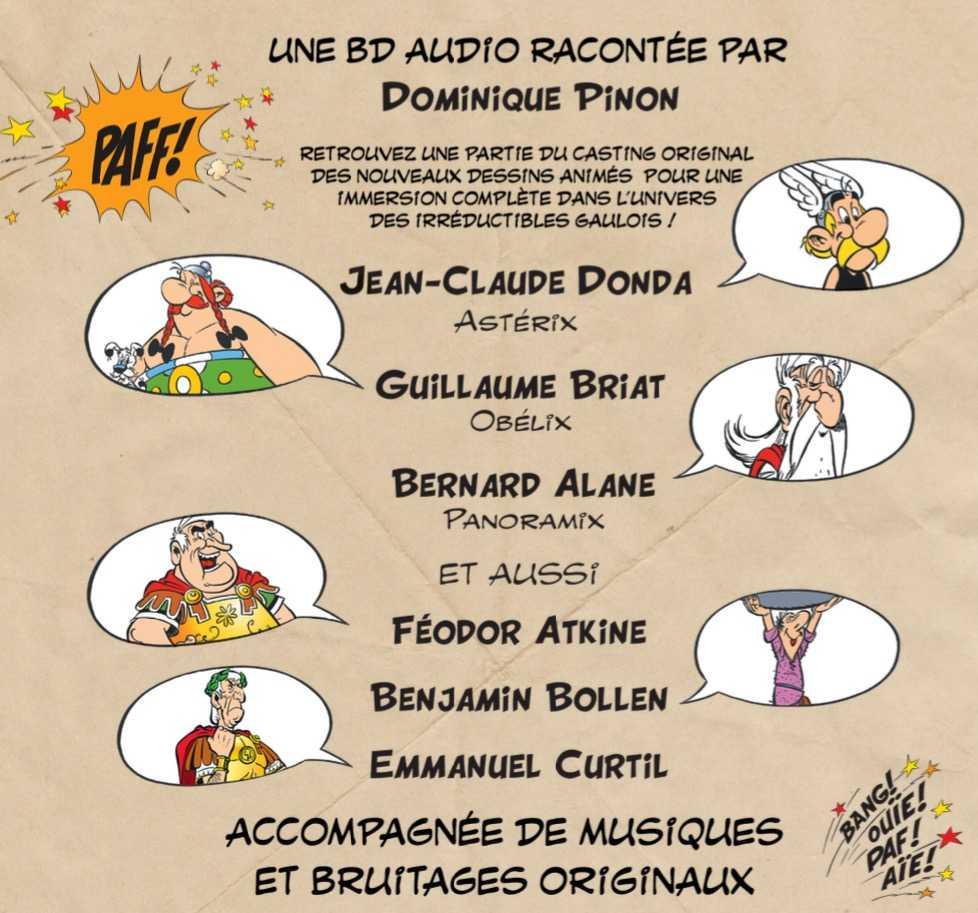 Asterix Debarque En Bd Audio Chez Audiolib
