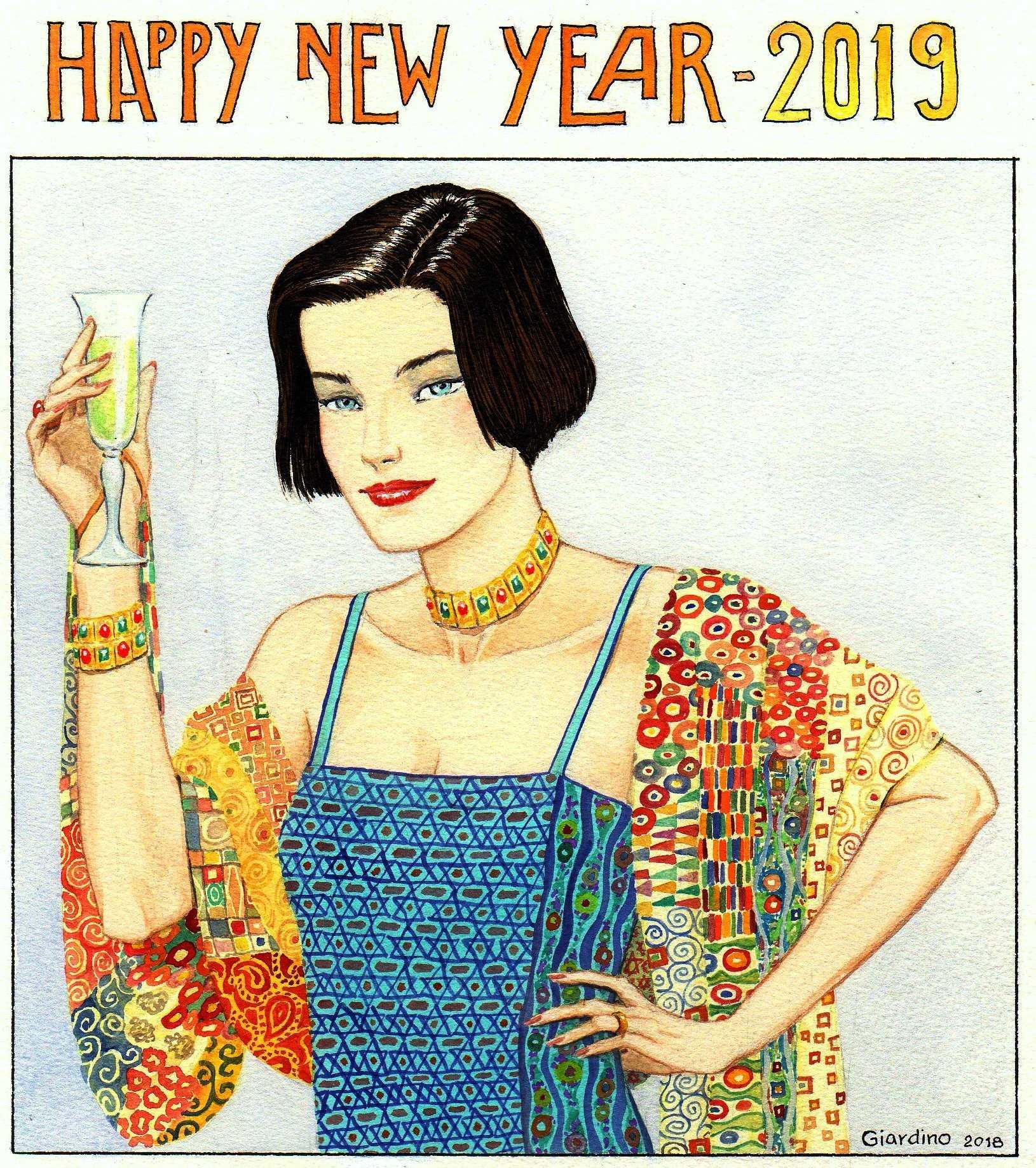 Giardino vous souhaite une très bonne année 2019 et Ligne Claire vous présente ses meilleurs vœux